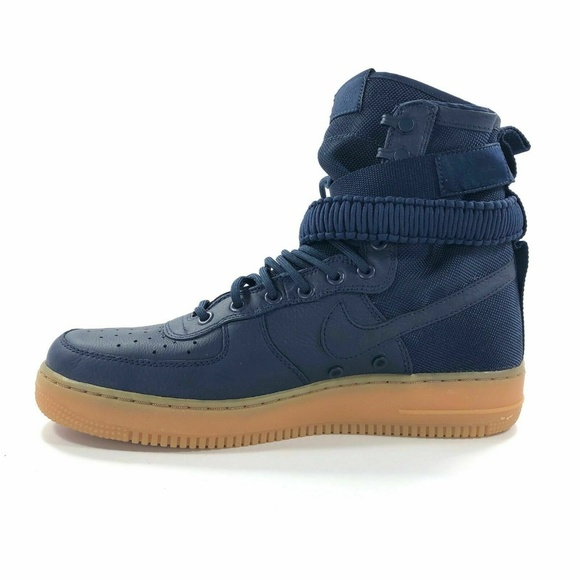 Nike Other - Nike SF AF1 Midnight Navy Blue 864024 400 Size 9